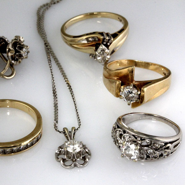 Custom ring heirloom diamonds 2