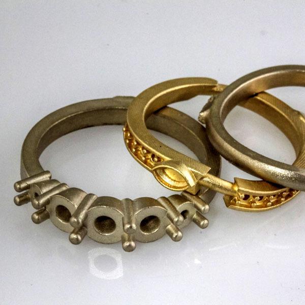 Custom ring heirloom diamonds 4