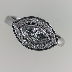 Marquise engagement ring 1