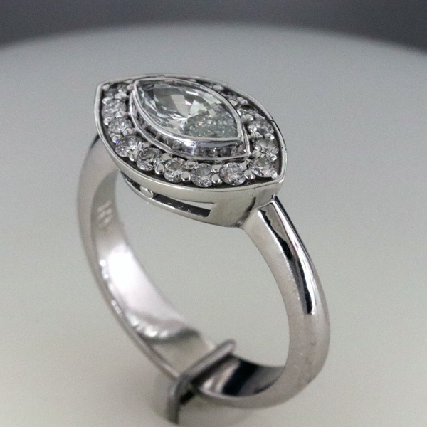 Marquise engagement ring 2 1