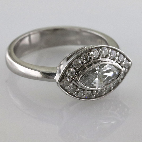 Marquise engagement ring 3 1
