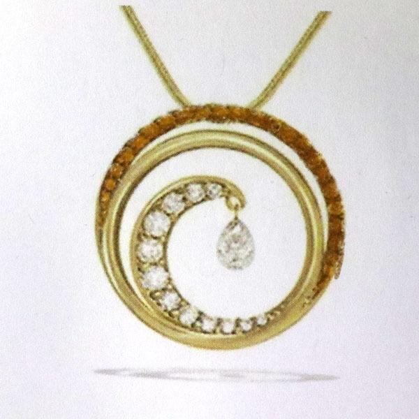 Custom ruby pendant wave 2