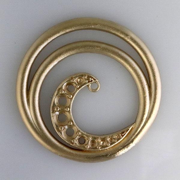 Custom ruby pendant wave 3